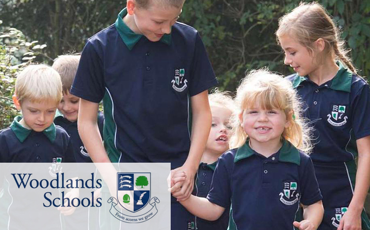 An online store for Woodlands Schools in record time