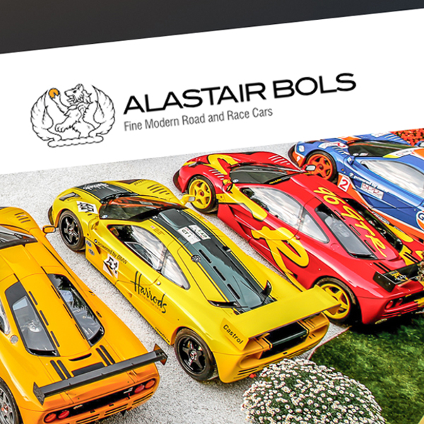 MC+Co: Branding, Web Design, SEO for Alastair Bols