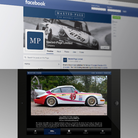 Branding, Advertising, Web & App Design - Maxted-Pa
